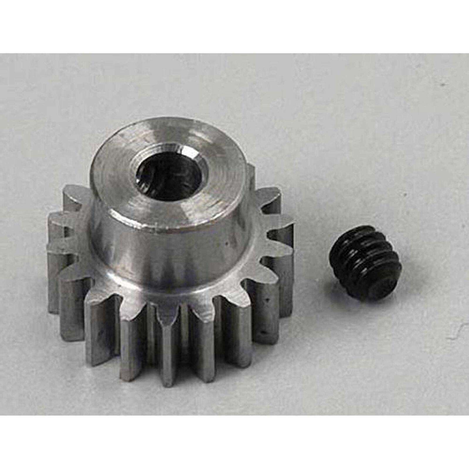 """Steel Alloy Motor Pinion Gear 1/8""""/.6 Mod, 18T"""