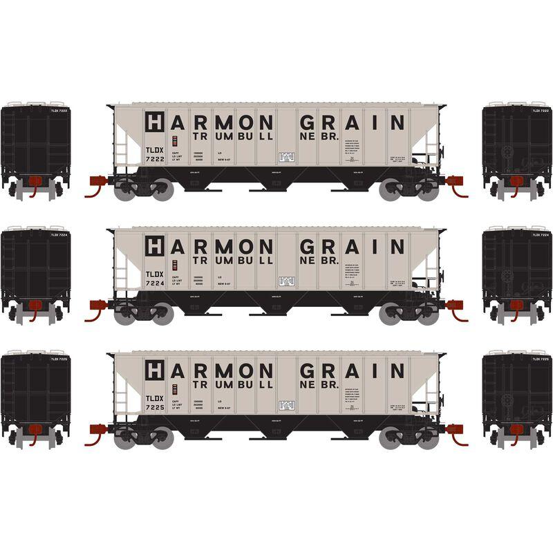 N PS 4427 Covered Hopper TLDX Harmon Grain (3)