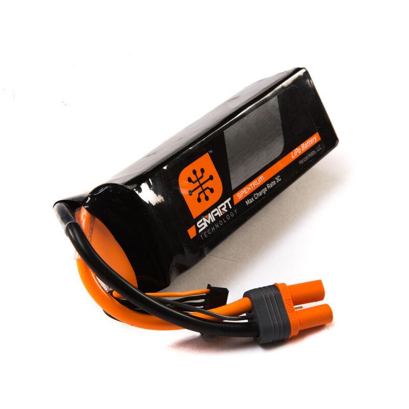 22.2V 7000mAh 6S 30C Smart LiPo Battery: IC5