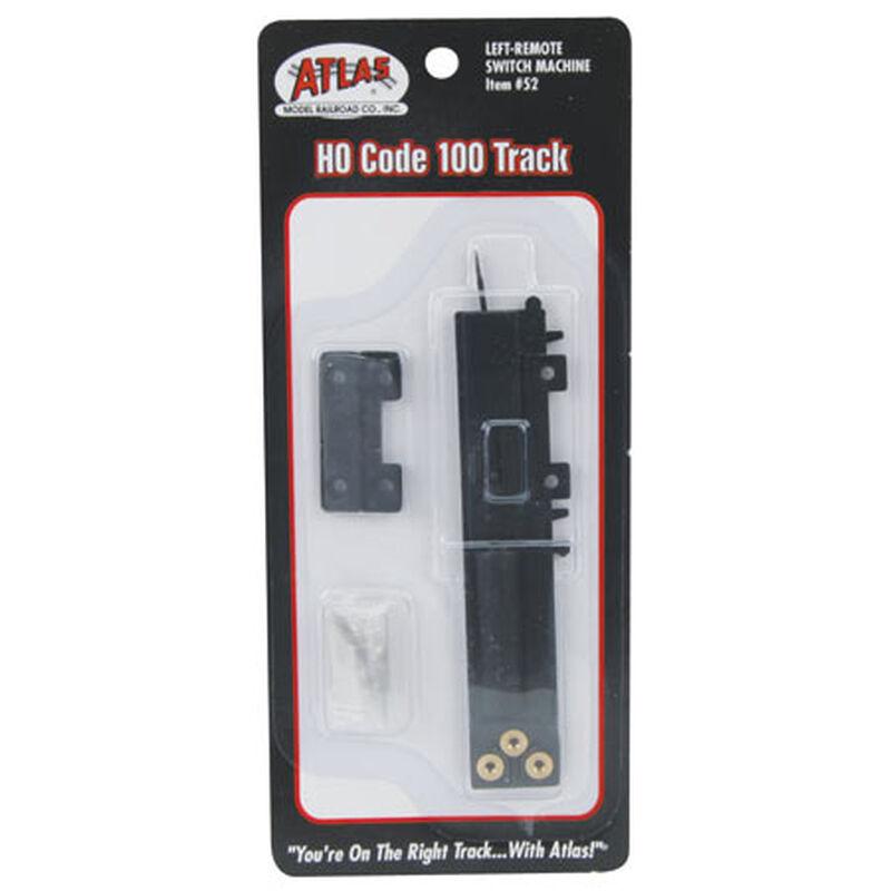 HO Code 100 Remote Left-Hand Switch Machine