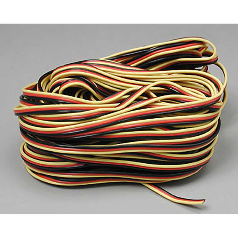 Servo Wire: 50' 3-Color