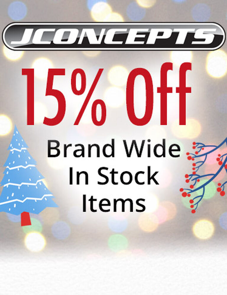 JConcepts Save 15% Brand Wide