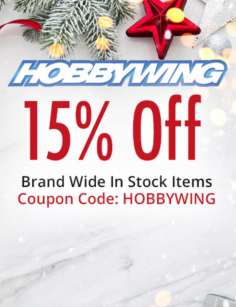 HOBBYWING 15% Off