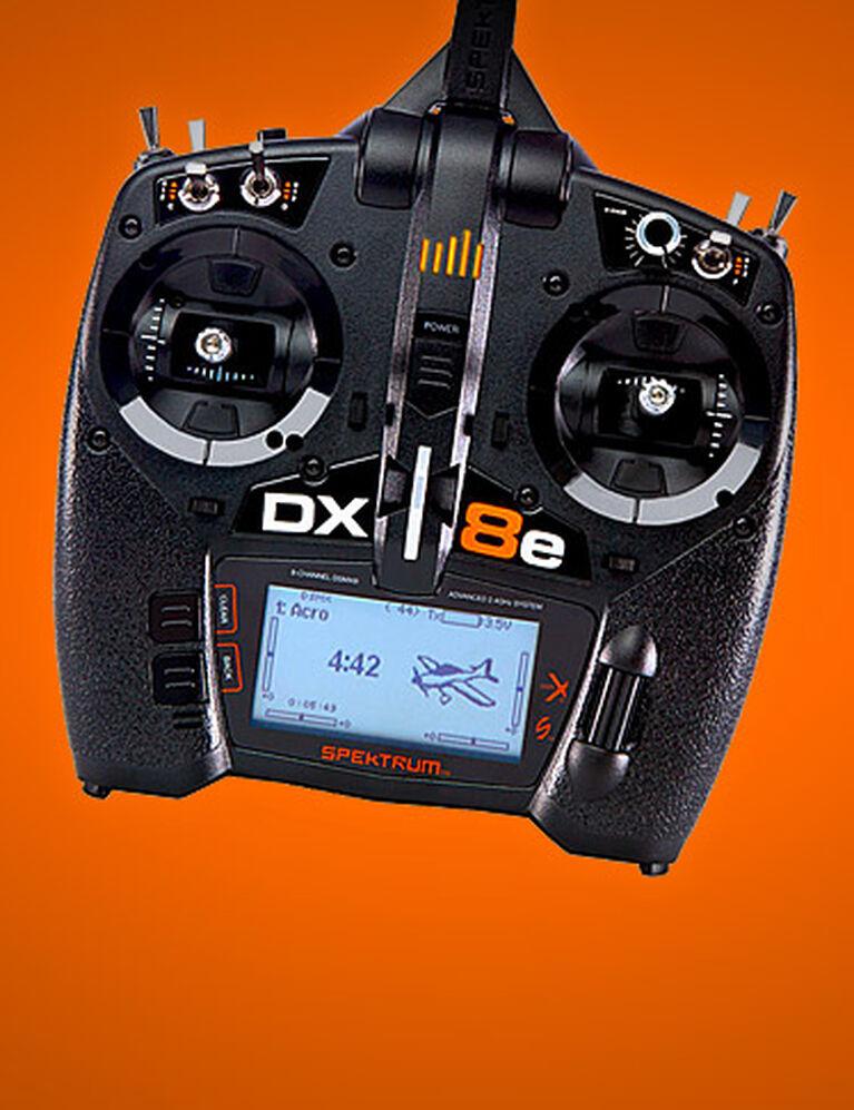 Spektrum DX8e 8-Channel DSMX Transmitter Only