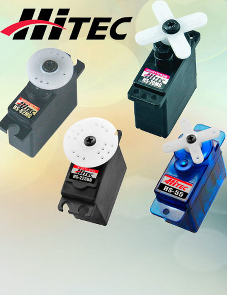 Hitec Mini & Micro Servos