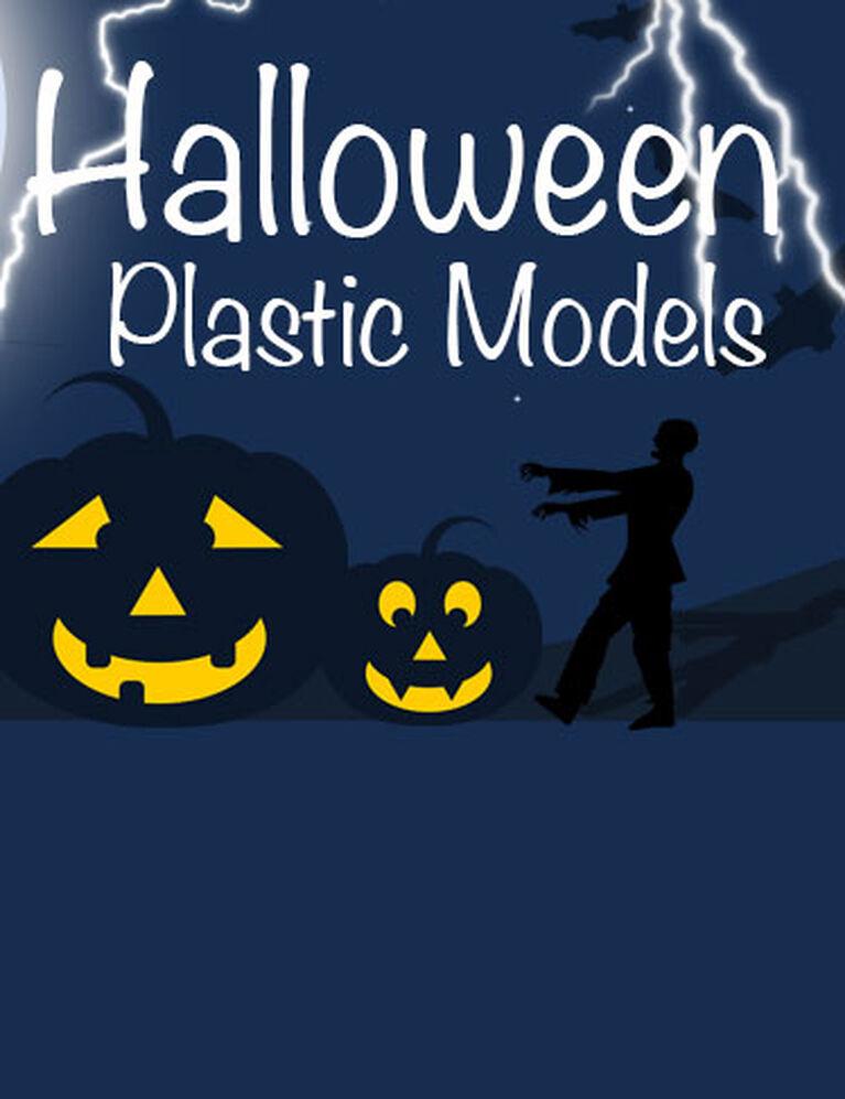 Halloween Plastic Models