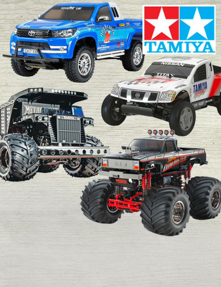 Tamiya Electric Trucks