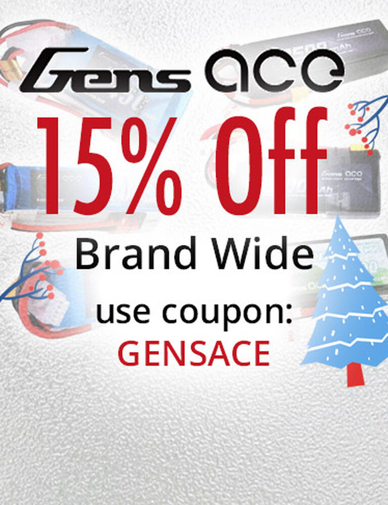 Gens ace Save 15% Brand Wide
