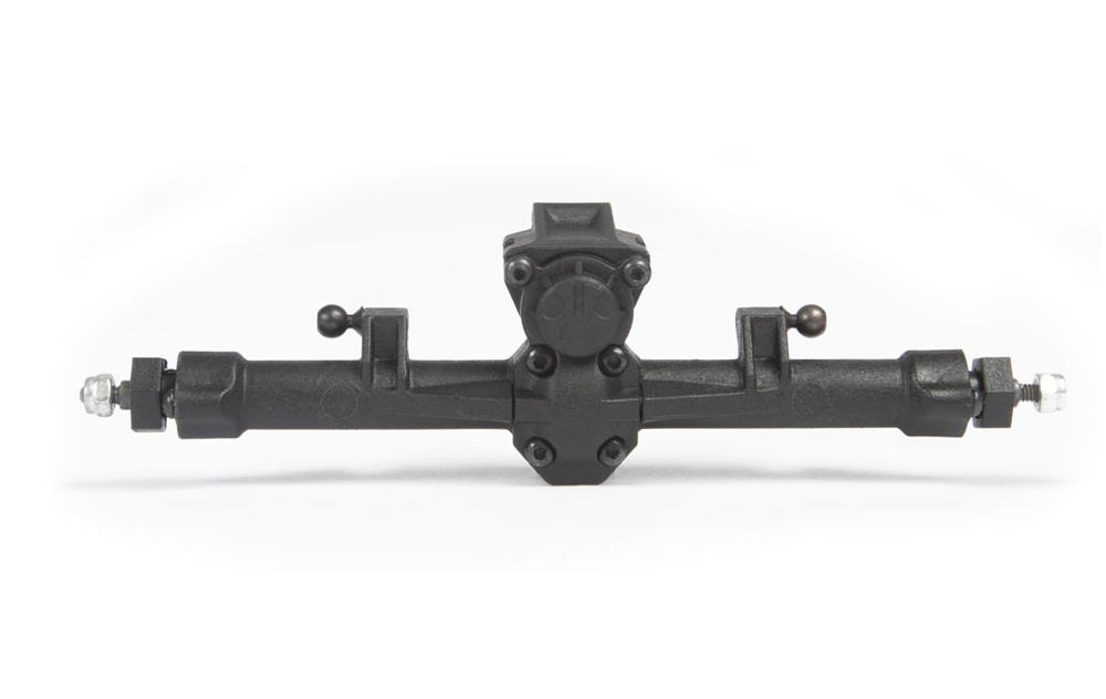 FRONT AND REAR SOLID AXLES
