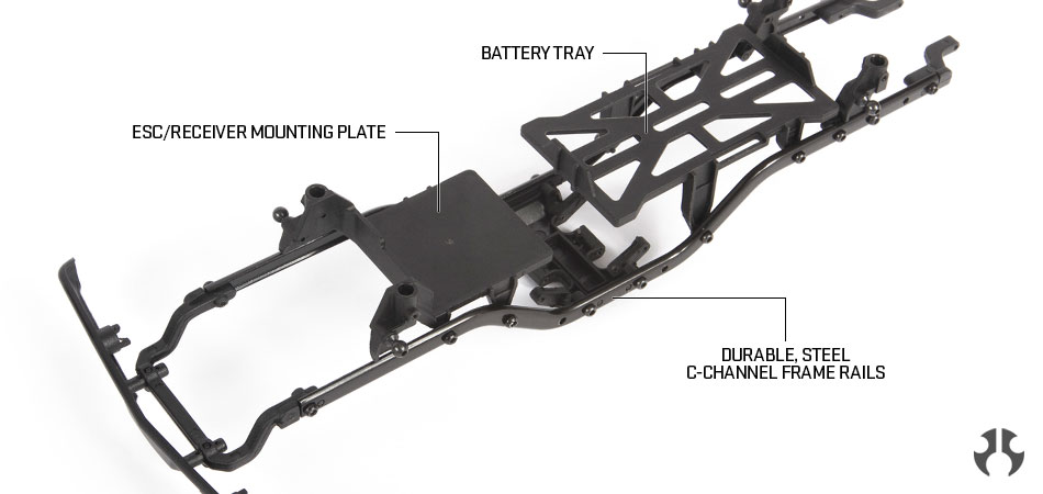 STEEL C-CHANNEL CHASSIS FRAME RAILS