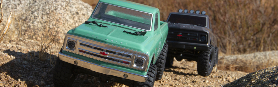 Axial SCX24 1967 Chevrolet C10 Truck 1/24 Scale RTR