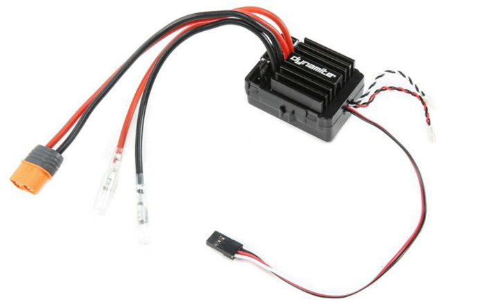 DYNAMITE AE-5L ESC WITH DRAG BRAKE