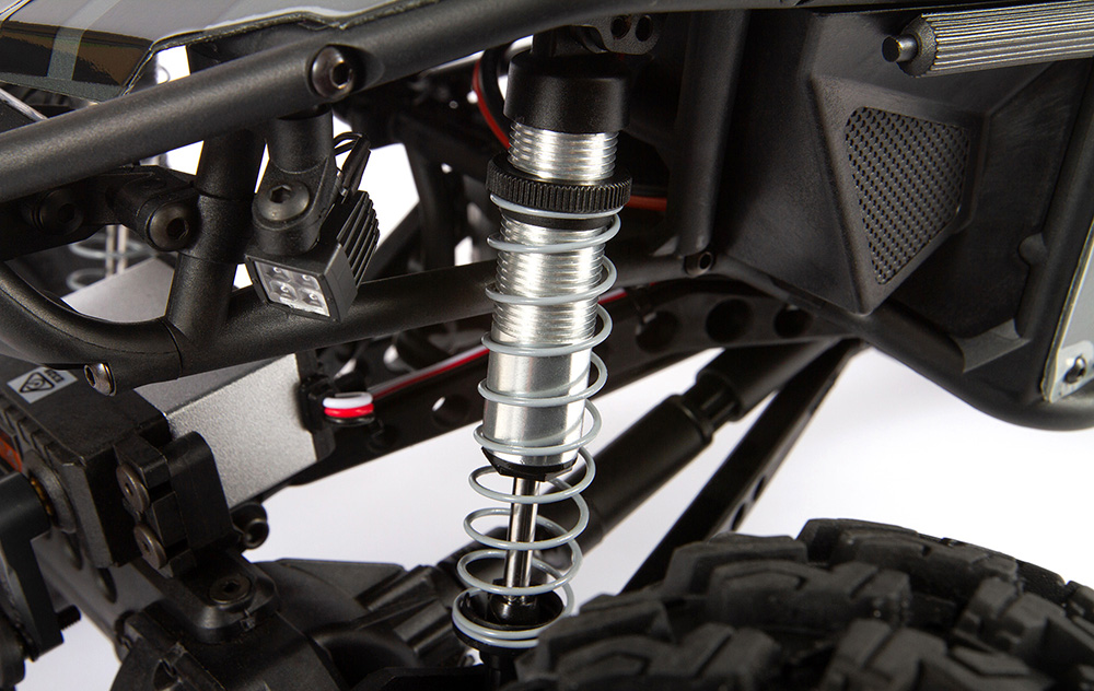 MULTIPLE MOUNTING POINTS FOR SHOCKS AND LINKS