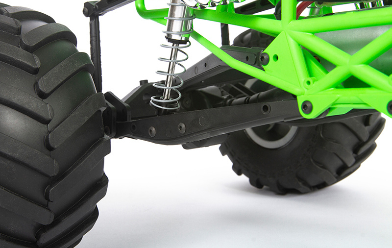 Axial 1/10 SMT10 Grave Digger 4WD Monster Truck Brushed ...