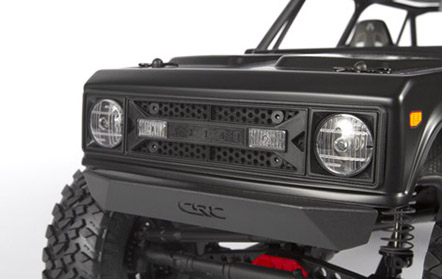 Molded Plastic Grille With Led Lights