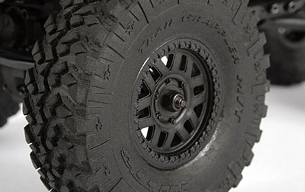 KMC XD229 MACHETE CRAWL WHEELS & NITTO TRAIL GRAPPLER M/T TIRES