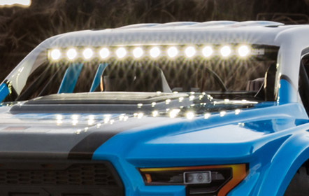 LED Light Bar (Front)