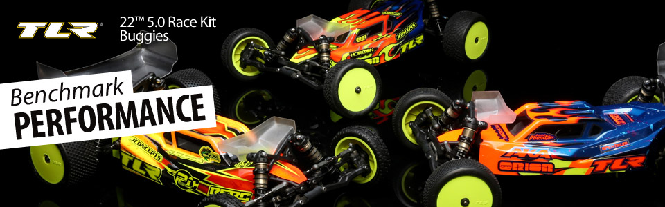 TLR 22 5.0 AC Race Kit: 1/10 2WD Buggy Astro/Carpet