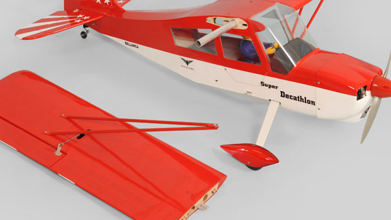 Phoenix Model¨ 1/6 Decathlon Mk2 GP/EP ARF - two-piece wing