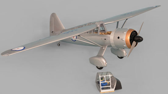 Phoenix Model Westland Lysander GP/EP ARF - Removable Hatch