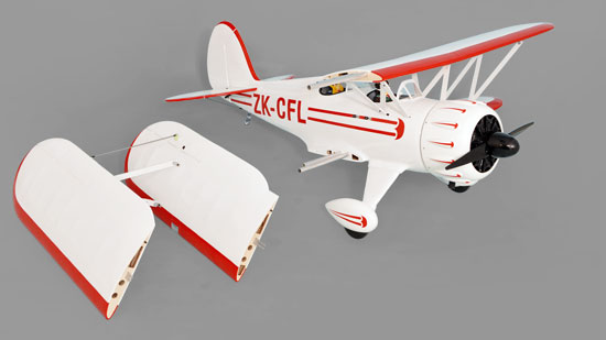 Phoenix Model WACO 50-61CC GAS/EP ARF   - Removable Wing