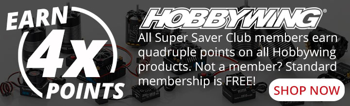 4x points on all Hobbywing products