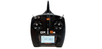 Spektrum DX6e 6-Channel DSMX Transmitter Only